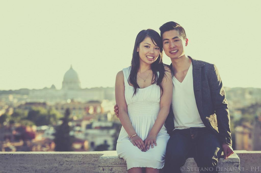 engagement photographer rome
