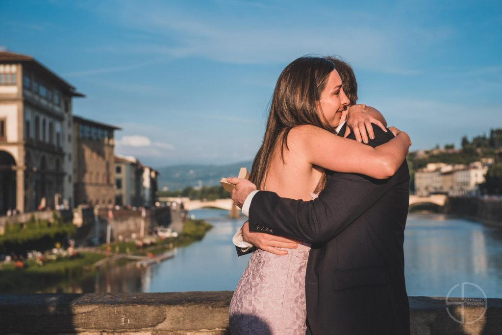 Photographer wedding proposal Florence