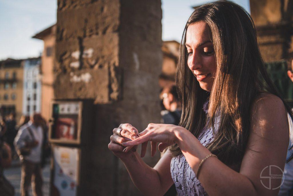 Photographer wedding proposal Florence