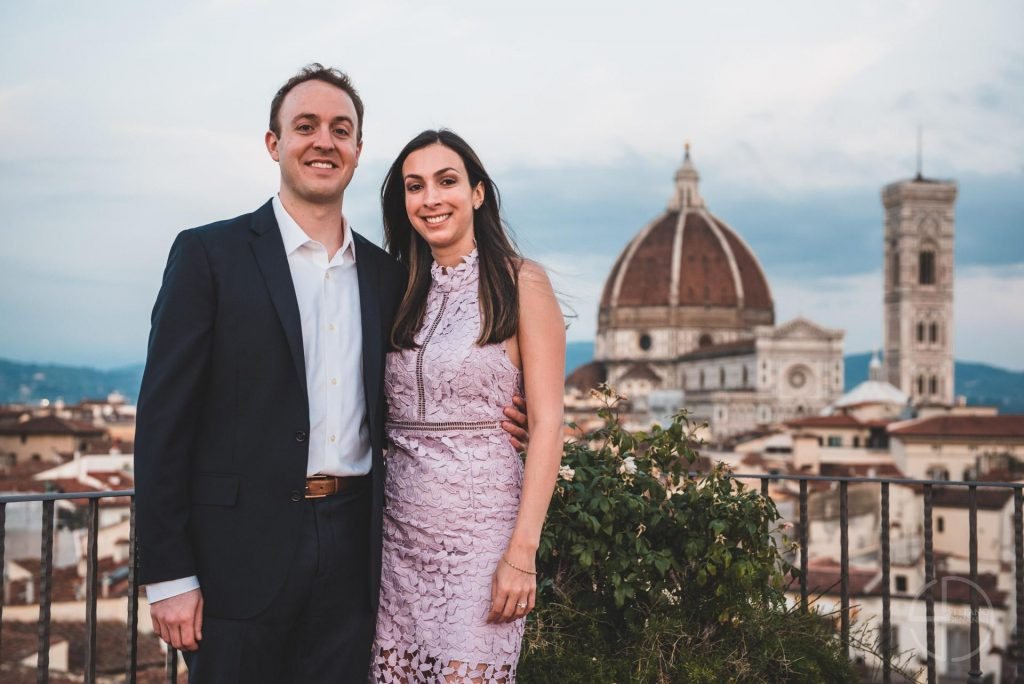 Photographer Engagement Florence